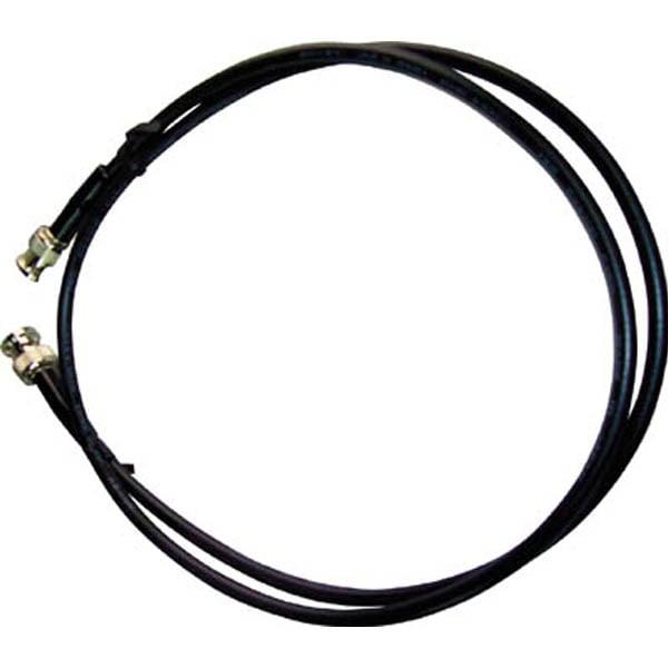 【CAINZ DASH】テイシン BNC付同軸ケーブル0.5m BNCプラグ両端付 3C−2V