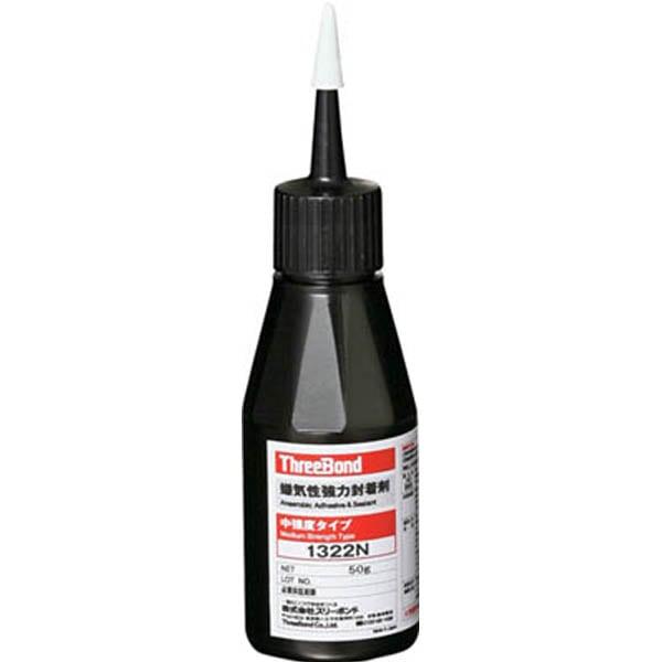 【CAINZ DASH】スリーボンド 中強度 嫌気性封着剤 TB1322N 50g 赤色 小ビスタイプ