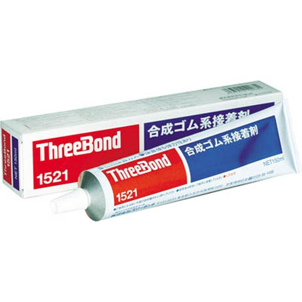 【CAINZ DASH】スリーボンド 合成ゴム系接着剤 TB1521 150g 琥珀色