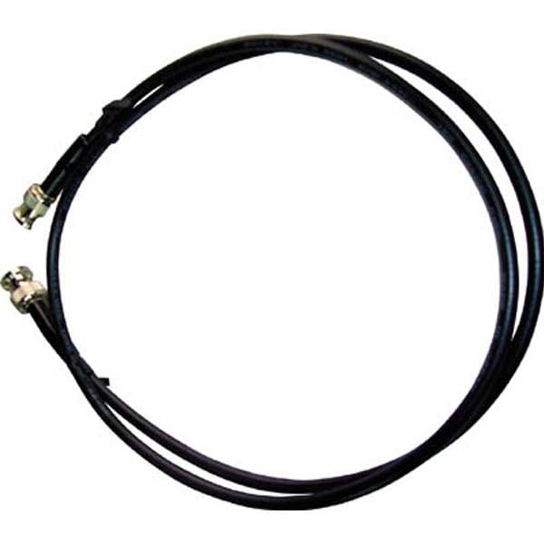 【CAINZ DASH】テイシン BNC付同軸ケーブル1m BNCプラグ両端付 3C−2V