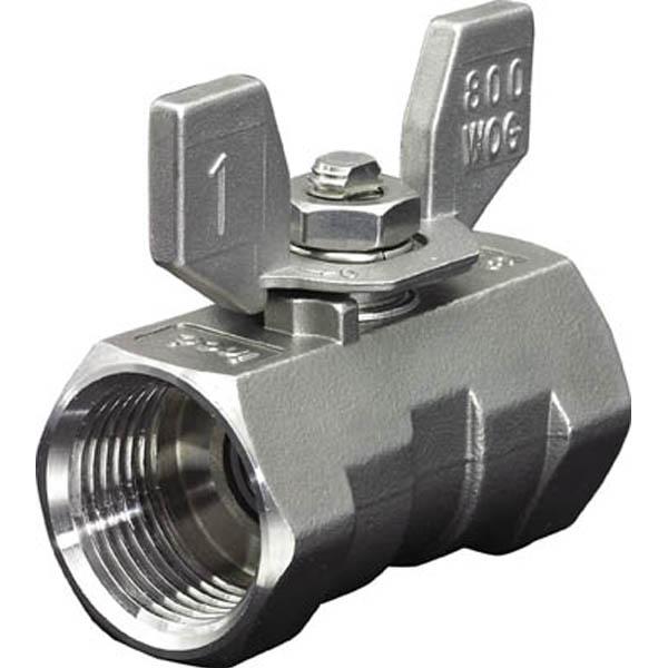 【CAINZ DASH】イノック ねじ込みボールバルブ 全長56.5mm 呼び径(A)15