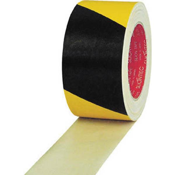 スリオン 危険表示布テープ 60mmX25m