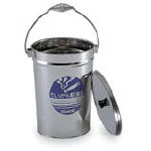 【CAINZ DASH】テラモト ステンすいがら収集缶