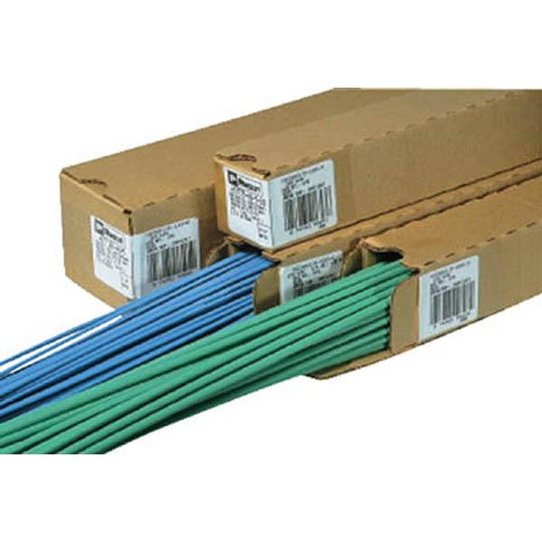 【CAINZ DASH】パンドウイット 熱収縮チューブ 標準タイプ 赤 (1箱(袋)=5本入)
