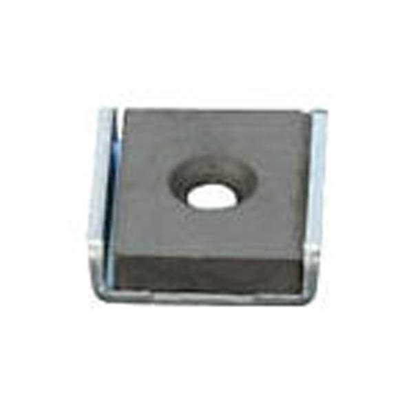 【CAINZ DASH】光 キャップ付異方性フェライト 角形 穴あり 2個入り1パック