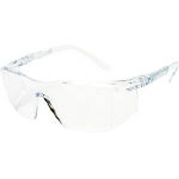 【CAINZ DASH】TRUSCO 一眼型安全メガネ オーバータイプ レンズ透明