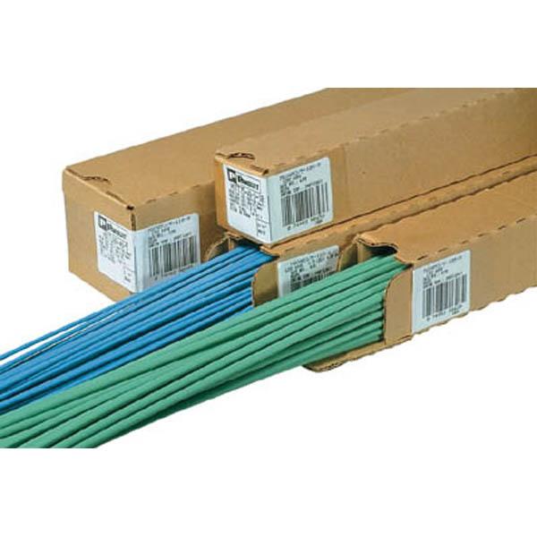 【CAINZ DASH】パンドウイット 熱収縮チューブ 標準タイプ 青 (1箱(袋)=25本入)