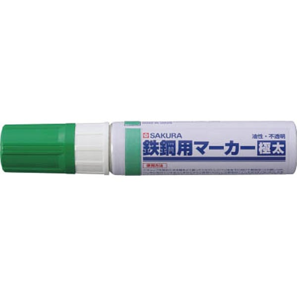 【CAINZ DASH】サクラ 鉄鋼用マーカー極太 緑