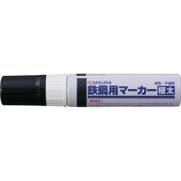 【CAINZ DASH】サクラ 鉄鋼用マーカー極太 黒