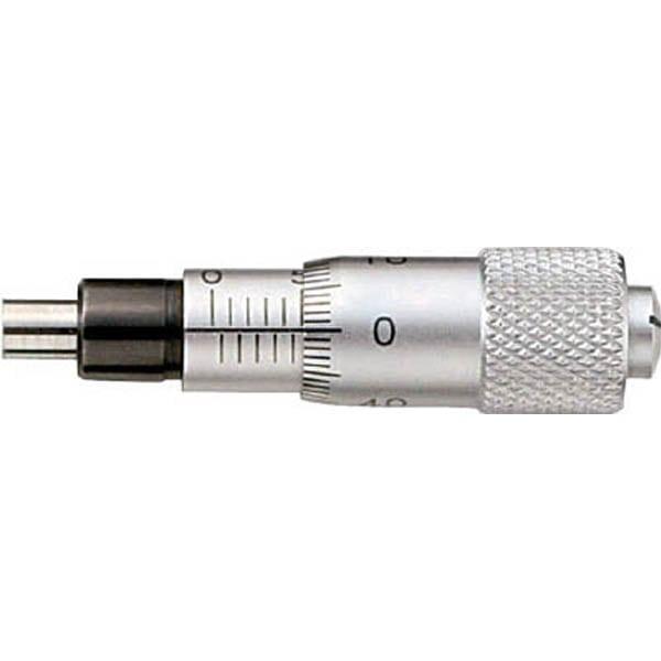 【CAINZ DASH】SK マイクロメータヘッド 測定範囲0〜6.5mm ナット付