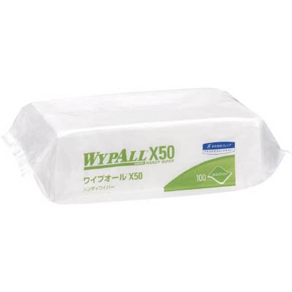 ワイプオール X50ハンディワイパー 不織布ウエス 1箱(16パック)
