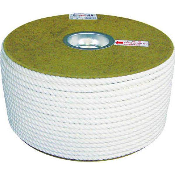 【CAINZ DASH】ユタカメイク 綿ロープドラム巻 6φ×200m