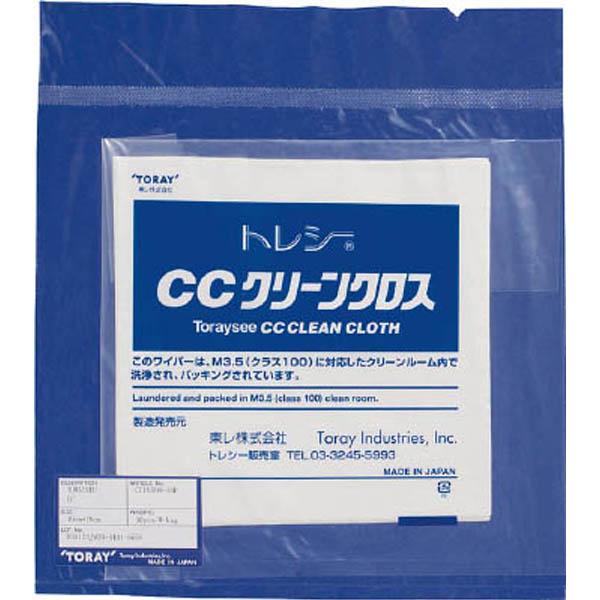 CCクリーンクロス 24.0×24.0cm (10枚 袋) CC2424H-10P 1袋(10枚) 387-1762