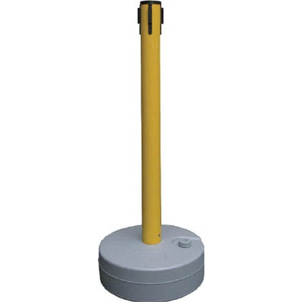 【CAINZ DASH】緑十字 バリアースタンド(キャッチのみ) ポール:黄 990×380mmΦ