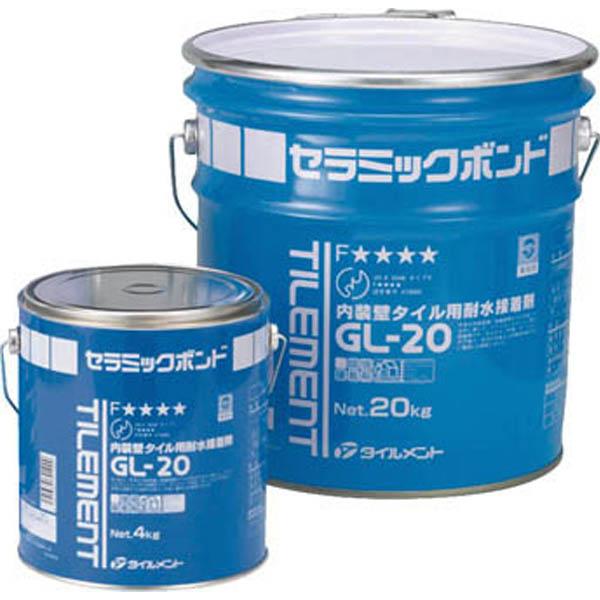 【CAINZ DASH】TILEMENT タイル用接着剤 GL−20 4kg