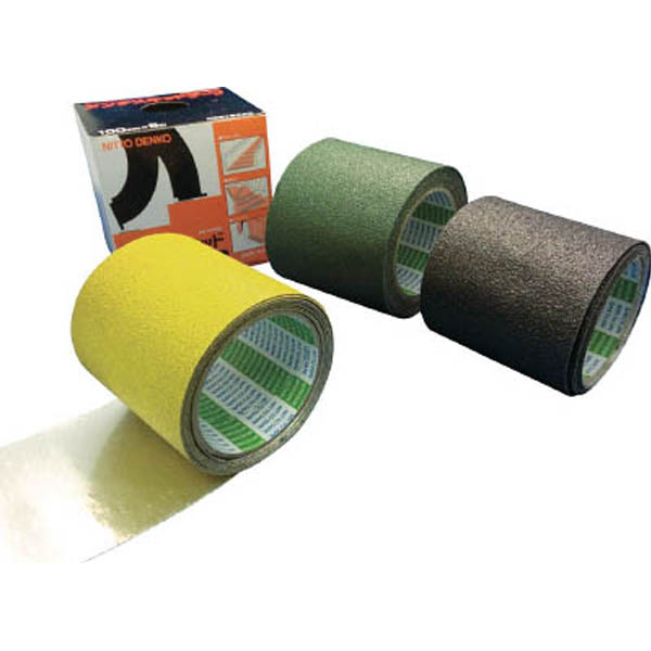 【CAINZ DASH】日東 アンチスキッドテープAS−127BOX 1.0mmX50mmX5m 緑