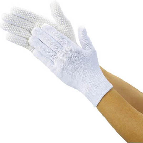【CAINZ DASH】TRUSCO 安全すべり止め手袋 薄手 Lサイズ