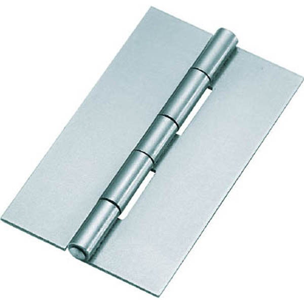 【CAINZ DASH】TRUSCO スチール製薄口溶接蝶番 全長51.0mm (10個入)
