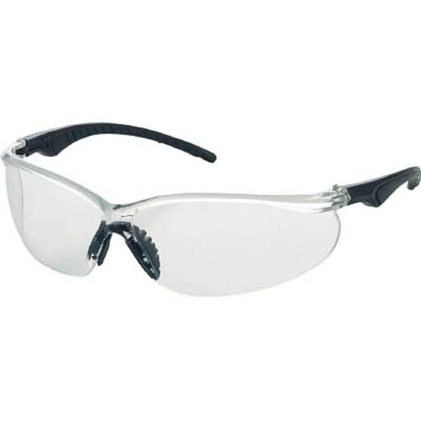 【CAINZ DASH】TRUSCO 二眼型セーフティグラス ソフトテンプルタイプ レンズクリア