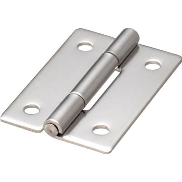 【CAINZ DASH】TRUSCO ステンレス製平型蝶番 全長50mm (1個=1袋)