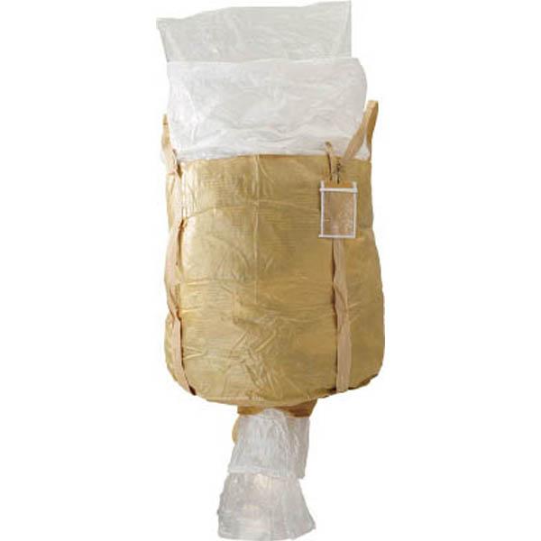 【CAINZ DASH】吉野 コンテナバッグ丸型 内袋付 排出口付