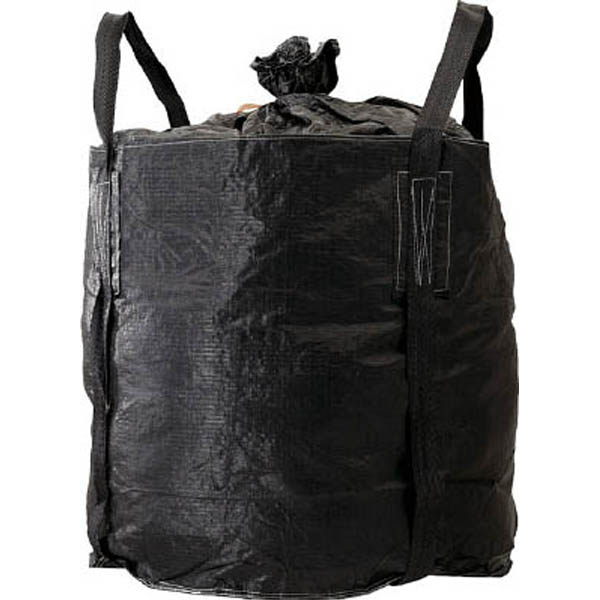 【CAINZ DASH】吉野 コンテナバッグ丸型 黒色バッグ