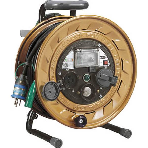 【CAINZ DASH】ハタヤ メタルセンサー(金属感知機能付)リール 単相100V接地付 30m