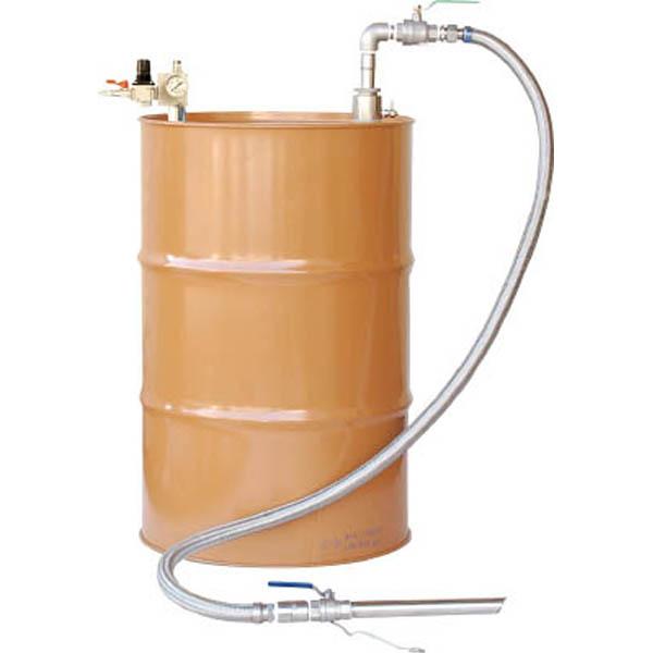【CAINZ DASH】アクアシステム 吐出専用 SUS製エア式ドラムポンプ セパレート型