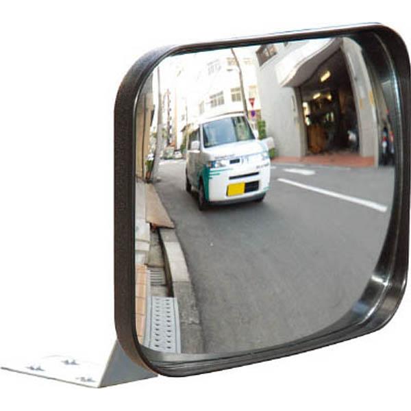 【CAINZ DASH】光 ガレージミラー 角型 200×240MM