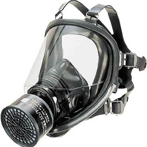 【CAINZ DASH】シゲマツ 直結式防毒マスク中濃度タイプ