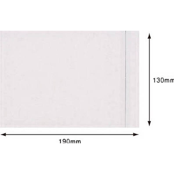 【CAINZ DASH】パピルス デリバリーパック (A6サイズ用) 130×190 (100枚入)