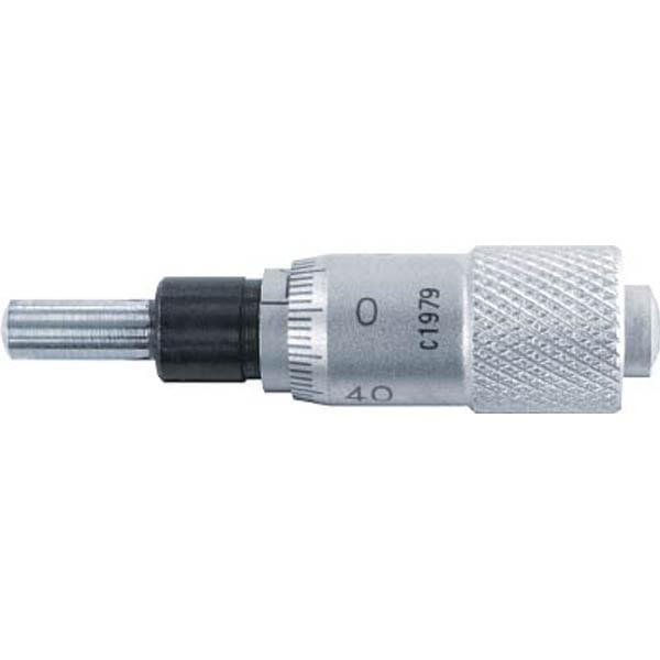 【CAINZ DASH】SK マイクロメータヘッド 測定範囲0〜6.5mm ストレート