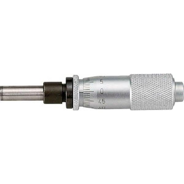 【CAINZ DASH】SK マイクロメータヘッド 測定範囲0〜15mm ストレート・クランプ付