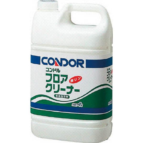 【CAINZ DASH】コンドル 床用洗剤フロアクリーナー 4L