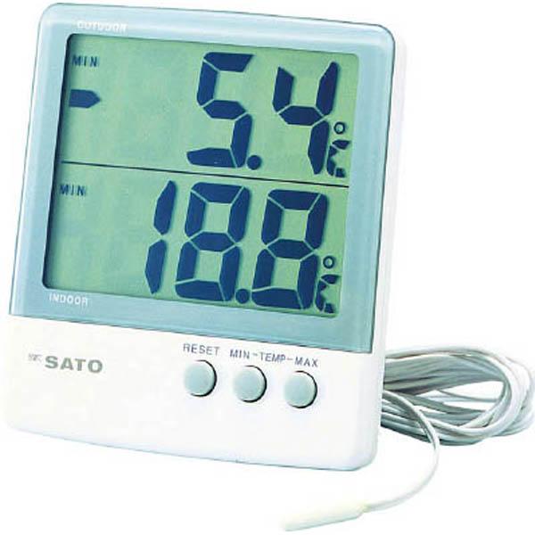 skSATO 最高最低温度計 PC-6800