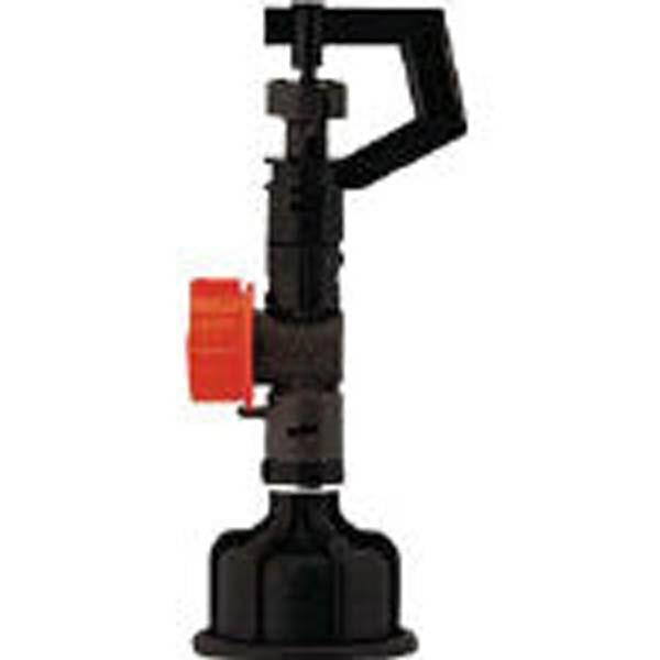 カクダイ 小型スプリンクラー 水量調節付 散水角度360度 576-702