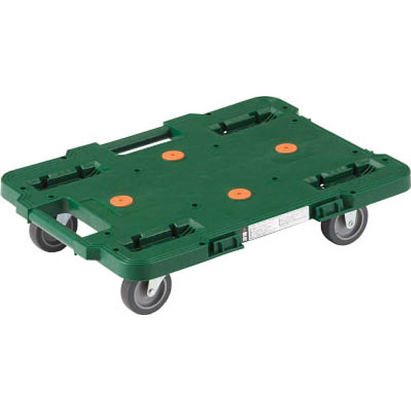 【CAINZ DASH】TRUSCO ルートバン 370X500 緑