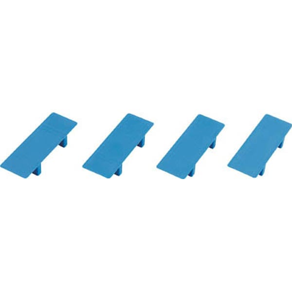 【CAINZ DASH】TRUSCO ルートバン用天板パーツセット 4個入り 青