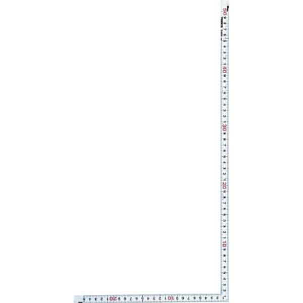 【CAINZ DASH】TRUSCO JISシルバー曲尺同厚サイズ50cm