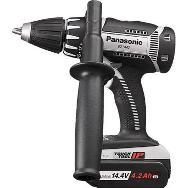 【CAINZ DASH】Panasonic ドリルドライバ14.4V 4.2Ah (グレー)