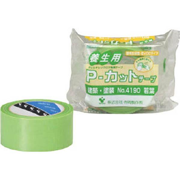 【CAINZ DASH】TERAOKA P−カットテープ NO.4190 若葉 50mmX25M