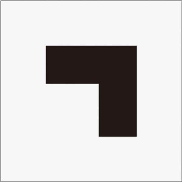 【CAINZ DASH】IM ステンシル 角(大) 文字サイズ120×120mm