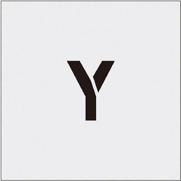 【CAINZ DASH】IM ステンシル Y 文字サイズ50×40mm