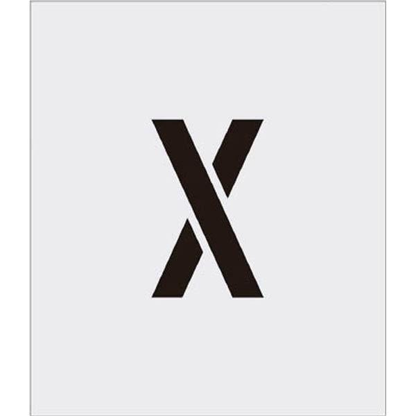 【CAINZ DASH】IM ステンシル X 文字サイズ150×95mm
