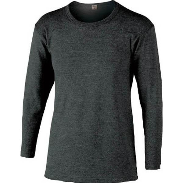 【CAINZ DASH】おたふく BTサーモインナーシャツ長袖丸首 L