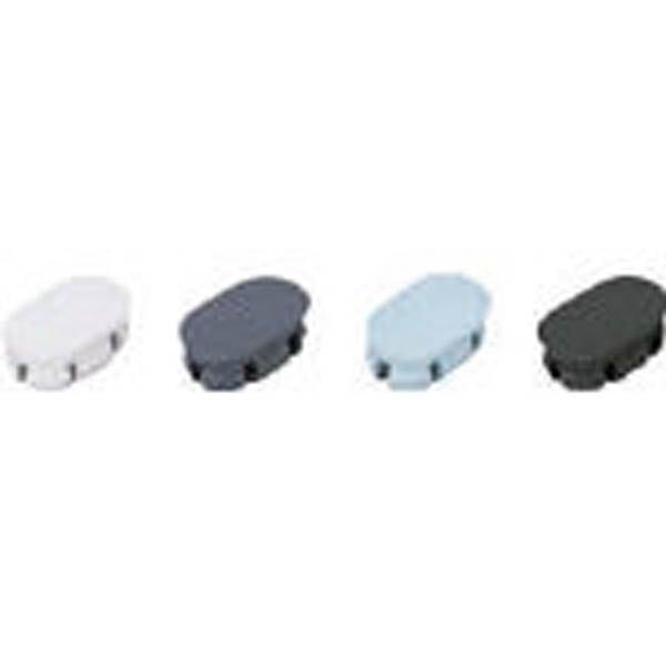 【CAINZ DASH】スガツネ工業 ハンドル KMH型キャップ ホワイト(100−024−066)