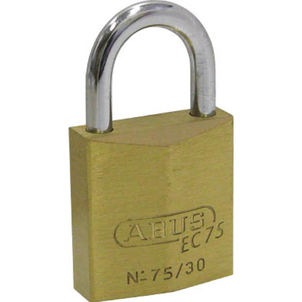 【CAINZ DASH】ABUS 真鍮南京錠 EC75−60 ディンプルシリンダー バラ番