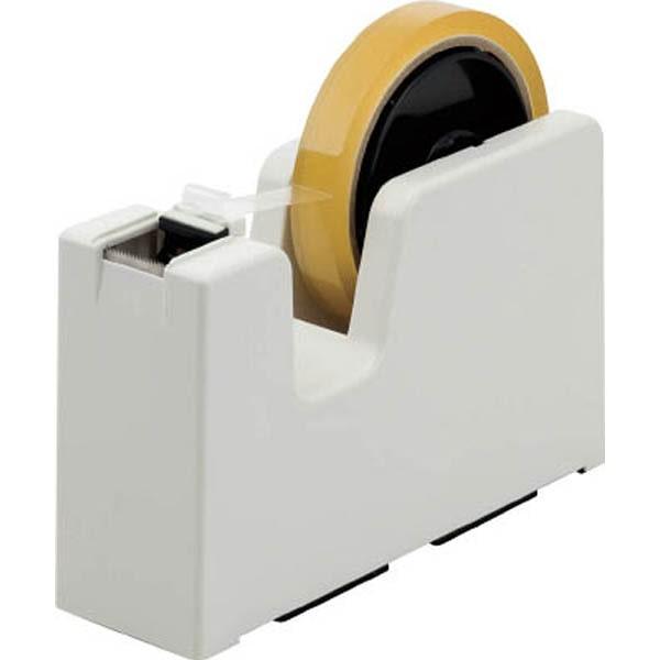 【CAINZ DASH】ニチバン  テープカッター タブメーカー (アイボリー)