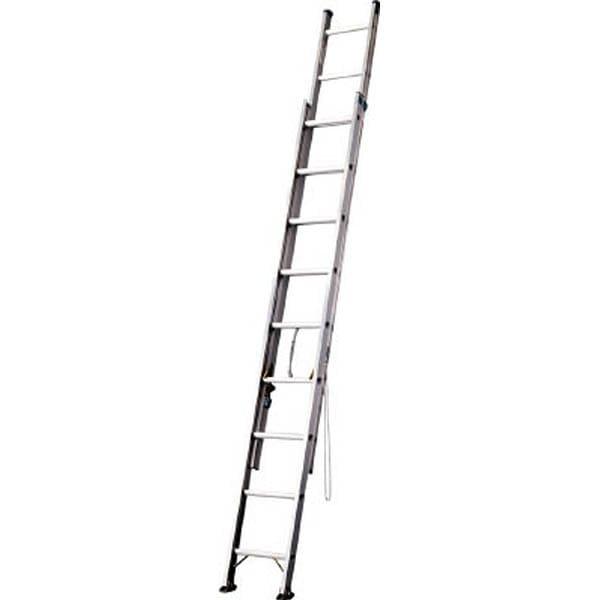 【CAINZ DASH】ハセガワ アルミ2連はしご 軽量タイプ HE2型 5.17m
