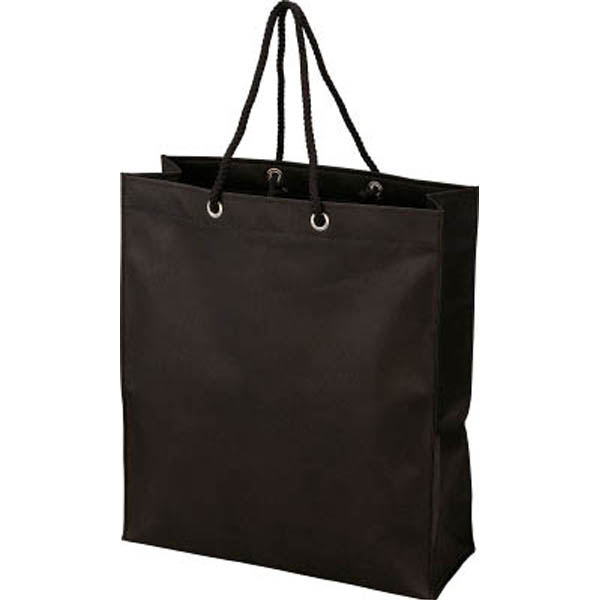 【CAINZ DASH】TRUSCO 不織布バッグ 黒 315×355×110MM (10枚入)